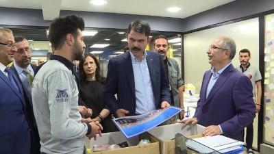 Bakan Kurum, Mardin Büyükşehir Belediyesi Gençlik Merkezi'ni ziyaret etti - MARDİN