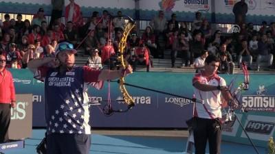 Demir Elmaağaçlı, Okçuluk Dünya Kupası'nda gümüş madalya kazandı - SAMSUN