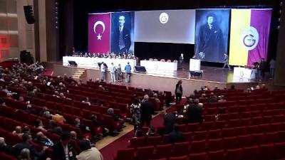 Galatasaray Kulübünün olağanüstü genel kurulu başladı - İSTANBUL