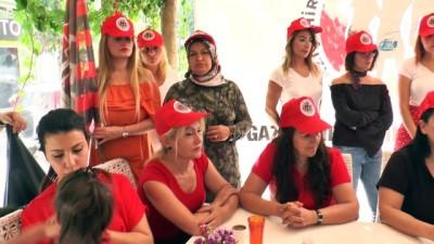 Gaziantep'te spora kadın eli değecek