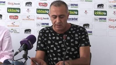 devre arasi - Hatayspor-Altınordu maçının ardından - HATAY