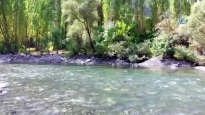 Huzurun sağlanması ile birlikte Beytüşşebap'ta rafting heyecanı başladı