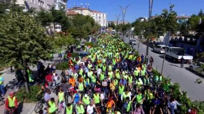 Kırşehirlilerden Belediye'nin bisiklet kullanımı teşvikine tam destek