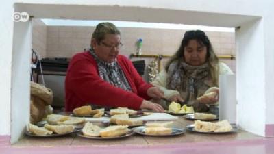 Krizdeki Arjantin'de aşevlerine rağbet artıyor