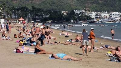 Marmaris sahillerinde yoğunluk - MUĞLA