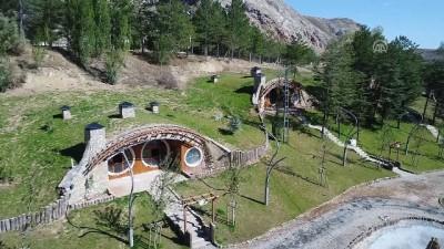Sivas'ın 'Hobbit evleri' dünyanın ilgisini çekti (2)