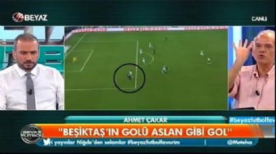 Ahmet Çakar o pozisyonu yorumladı