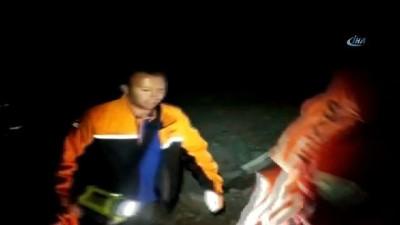 Dağa çakılan paraşütçü nefes kesen operasyonla sağ olarak kurtarıldı