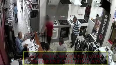 Hırsızlık anı güvenlik kamerasında - GAZİANTEP