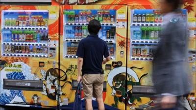 -Japonya'nın İnsansız Marketleri 'Otomatlar'