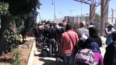 Suriyelilerin Türkiye'ye dönüşleri başladı - KİLİS
