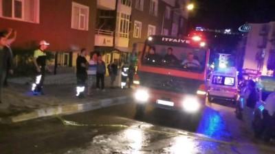 Yozgat'ta çatı katında çıkan yangın sonucu 5 daire kullanılamaz hale geldi