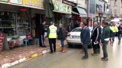 gecmis olsun -  Başkan Toçoğlu selin yaşandığı ilçede incelemelerde bulundu