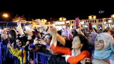Gümüşhane'de festival Sinan Akçıl konseriyle son buldu