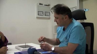 Kayseri'de ilk defa kornea tamiri yapıldı