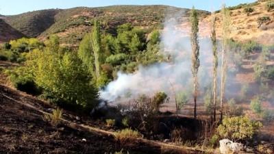 Makilik ve ormanlık alanda yangın - HATAY