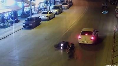 Aşırı hız ve dikkatsiz sürücüler kazaları beraberinde getirdi... Yurtta meydana gelen trafik kazaları Mobese kameralarında