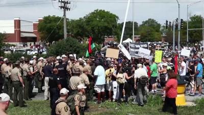 Chicago polisinden göstericilere müdahale - CHİCAGO