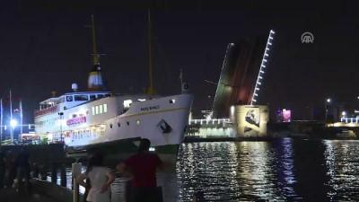Galata Köprüsü'nde bakım çalışması yapıldı - İSTANBUL