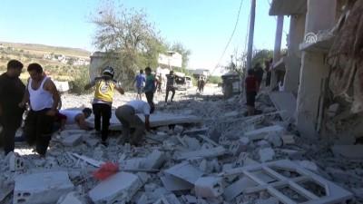 hava saldirisi - İdlib'e hava saldırısı - İDLİB