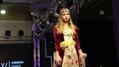 IKBY'de ilk defa 'moda haftası' düzenlendi - ERBİL