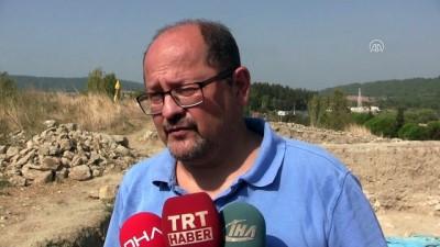 Maydos'ta 4 bin yıllık savunma duvarı bulundu - ÇANAKKALE