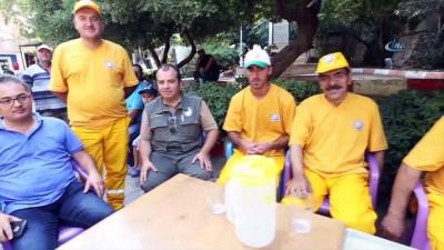 Onlar İzmir'in gönüllü ateş savaşçısı orman köylüleri