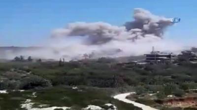 hava saldirisi -  - Rusya'nın İdlib'e Düzenlediği Hava Saldırısında 4 Sivil Hayatını Kaybederken, 5 Sivil Yaralandı. Rus Hava Kuvvetleri, İdlib'e 38 Hava Saldırısı Düzenledi.