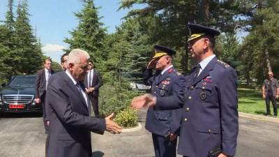 TBMM Başkanı Yıldırım, Birleştirilmiş Hava Harekat Merkezini ziyaret etti - ESKİŞEHİR