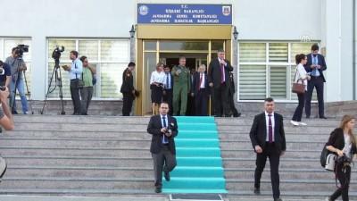 Ukrayna İçişleri Bakanı Avakov, Jandarma Havacılık Başkanlığını ziyaret etti - ANKARA