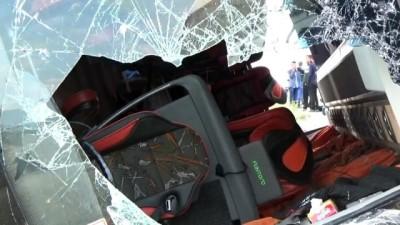 5 kişinin hayatını kaybettiği 36 kişinin yaralandığı kazada otobüs firmasına 200 bin liralık tazminat davası