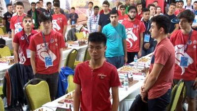 Dünya Gençler ve Genç Kızlar Satranç Şampiyonası Gebze'de başladı