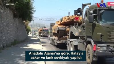 hava saldirisi - Hatay'a Tank Sevkiyatı