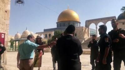 isgal - İsrailli aşırı sağcı milletvekilinden Mescid-i Aksa'ya baskın - KUDÜS