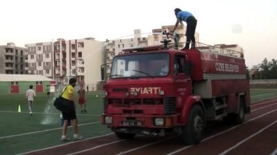 İtfaiyeden futbolculara destek - ŞIRNAK