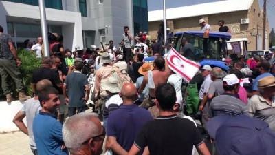 KKTC'de besicilerden protesto - LEFKOŞA