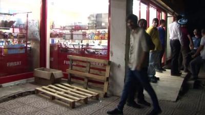 maskeli hirsiz -  Maltepe'de maskeli hırsız market soydu