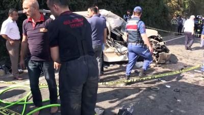 su kanali - Ordu'da hafif ticari araç su kanalına düştü: 1 ölü, 3 yaralı