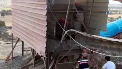 Taş kırma makinesine sıkışan kaynak ustası hayatını kaybetti