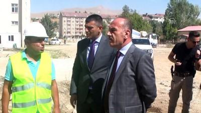 Teröristlerin yıktığı okulların yerine yenileri yapılıyor - HAKKARİ