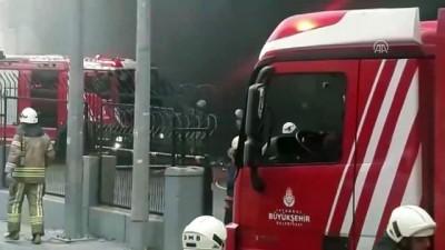 Beylikdüzü'nde fabrika yangını - İSTANBUL