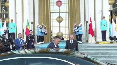 makam araci - Cumhurbaşkanı Erdoğan, Benin Cumhurbaşkanı Talon'u resmi törenle karşıladı - ANKARA