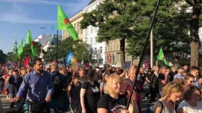 asiri sagci - Hamburg'da yükselen aşırı sağa karşı gösteri düzenlendi