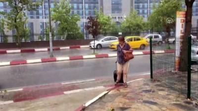 İstanbul'da şiddetli sağanak