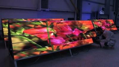 İstanbul Yeni Havalimanı'nın LED ekranları Amasya'dan - AMASYA