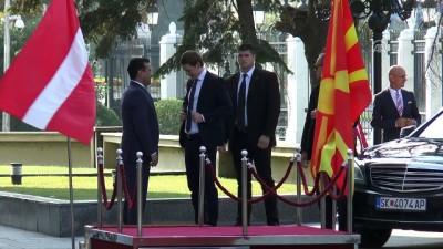 Avusturya Başbakanı Kurz Makedonya'da - ÜSKÜP