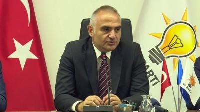 destina - Bakan Ersoy: 'İzmir'e gelen turist sayısının ikiye katlayacağını düşünüyoruz' - İZMİR