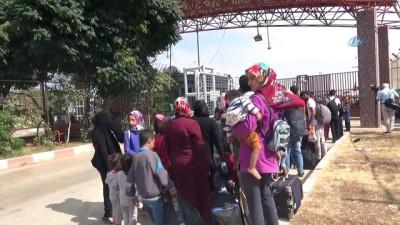 Bayram için ülkesine giden 4 Bin Suriyeli Türkiye'ye döndü