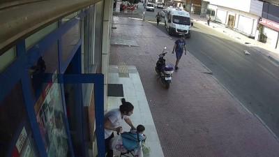 Bisiklet hırsızlığı güvenlik kamerasında - ADANA