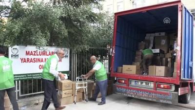 Diyarbakır'dan Suriye'ye insani yardım